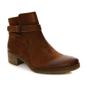 Mila - Bottines en cuir - marron