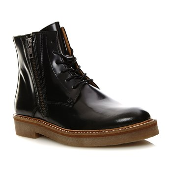Oxfoto - Bottines en cuir - noir
