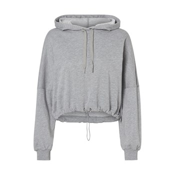 Sweat à capuche - gris clair