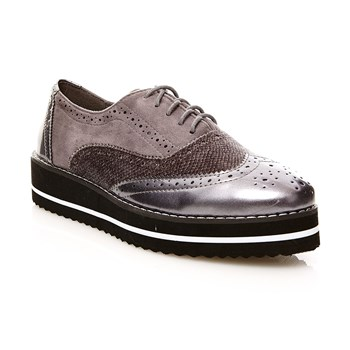 Zapatos Oxford - gris