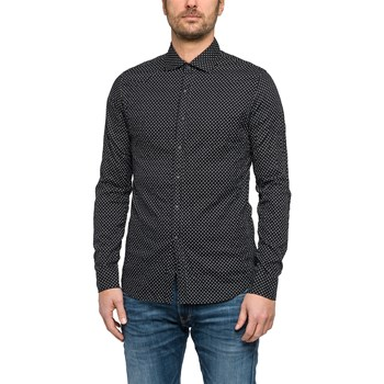 Replay - Camisa de manga larga - negro