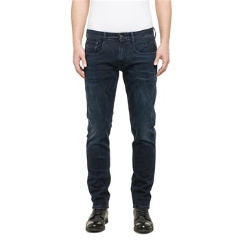 Anbass - Jean slim - denim bleu