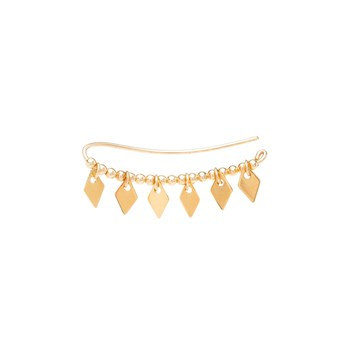 YAY You Are Young - Jimie - Boucles d'oreilles cuff - doré