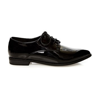Derbies vernis - noir