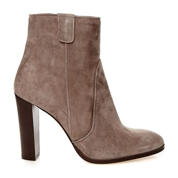 Simia - Bottines en cuir de chèvre - taupe