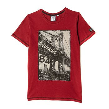 Bridge - T-shirt manches courtes - rouge