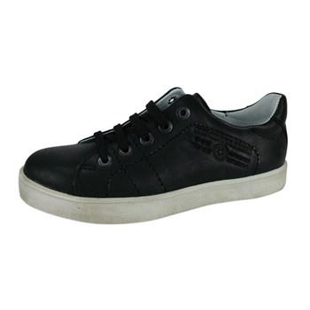 Jacob - Tennis en cuir - noir