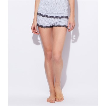 Viscose Lovely - Short - hellgrau