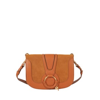 See by Chloé - Hana Medium - Besace en cuir - marron