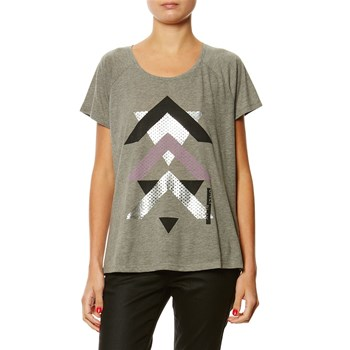 Only Play - Linda - T-shirt manches courtes - gris