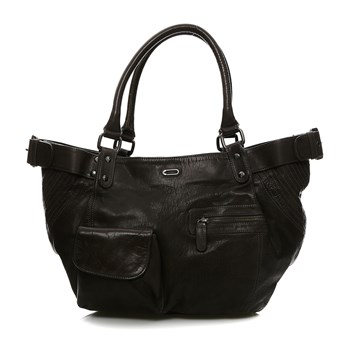 FisherBoy - Borsa in pelle - nero