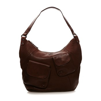 Mrs Ficher - Borsa in pelle - marrone scuro