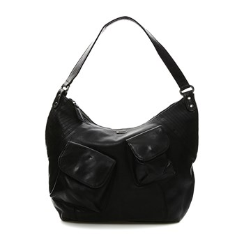 Mrs Ficher - Borsa in pelle - nero