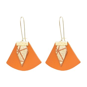 Charly James - Pendants en cuir - marron