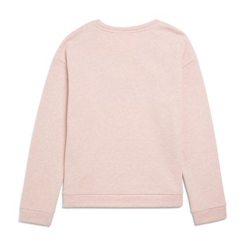 Sweat-shirt brodé - rose