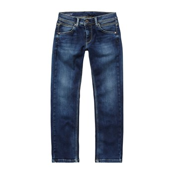 Riveted - Jean droit - denim bleu