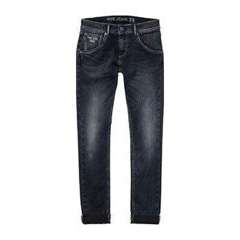 Berry - Jean droit - denim bleu