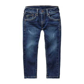 Finly - Jean droit - denim bleu