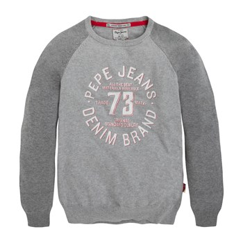 Kurt - Sweat imprimé - gris