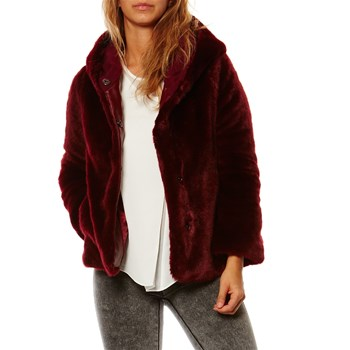 Cappotto casual - bordeaux