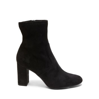 Avenue - Bottines en velours - noir