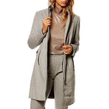 Manteau casual - gris clair