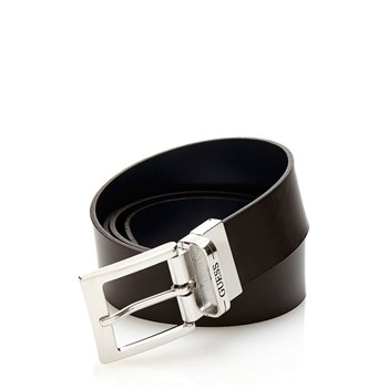 City-Sliker - Ceinture en cuir - marron