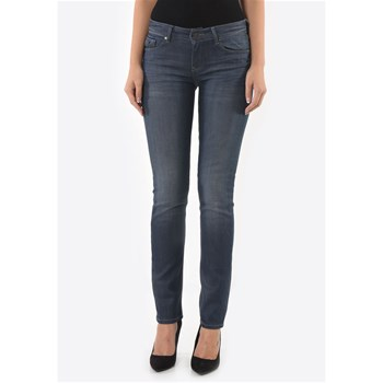 Wilda - Jean slim - denim bleu