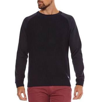 David - Pullover - marineblau