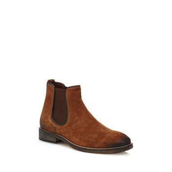 Jared - Bottines en daim - marron