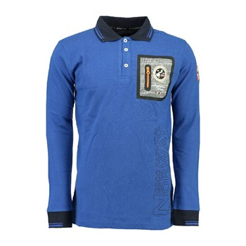 Geographical Norway - Polo - bleu