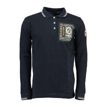 Geographical Norway - Polo - bleu marine