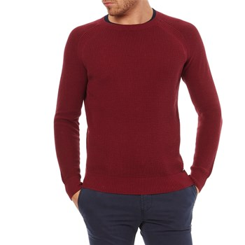 K Alby - Pullover - weinrot