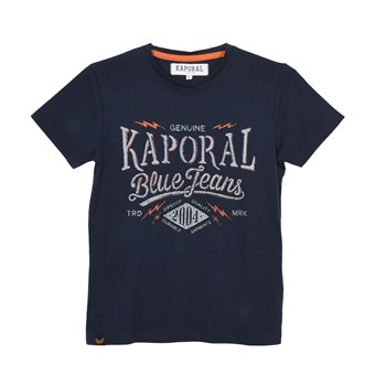 Naker - Kurzärmeliges T-Shirt - marineblau