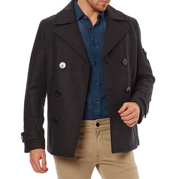 Diesel - Forme trench, imperméable : Trench - noir