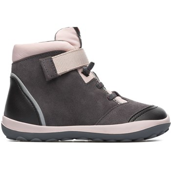 Peu - Bottines en cuir - gris