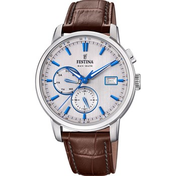 Festina - Timeless Chrono - Montre en cuir - marron