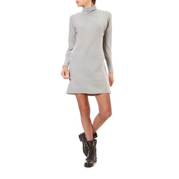 CITY - Robe Pull - gris clair