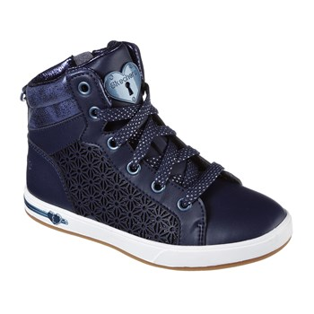 Shoutouts - Sneakers alte in pelle - blu scuro