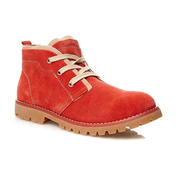 Bottines - rouille