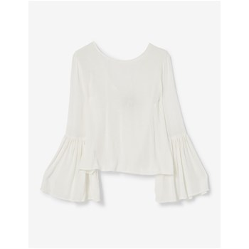 Blouse manches pagodes - ecru