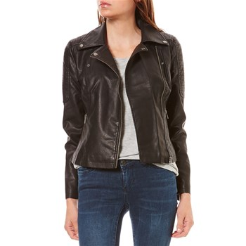 Noisy May - REBEL - Veste biker - noir