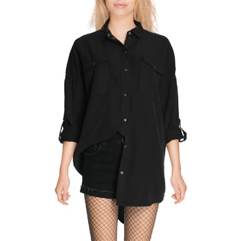 Noisy May - ERIC - Chemise manches longues - noir