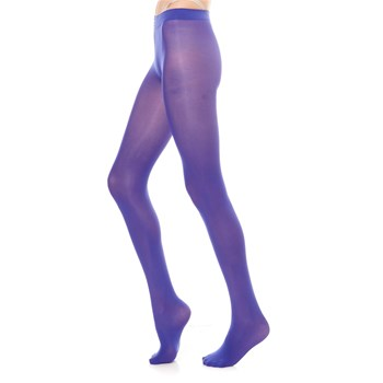Easy Chic - Strumpfhose 60 Denier - blau