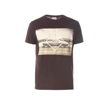Turey - T-shirt manches courtes - prune