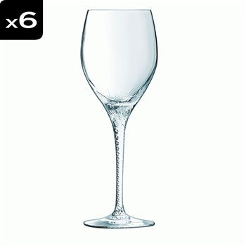 Hypnose - Lot 6 verres à pied 25cl - transparent