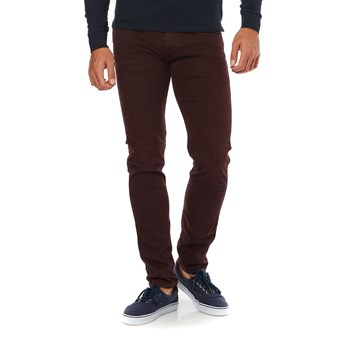 Replay - Anbass - Jeans mit Slimcut - bordeauxrot