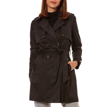 Caroll - Forme trench, imperméable : Trench - noir