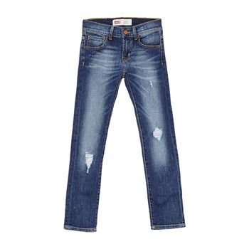 510 - Jean slim - denim azul