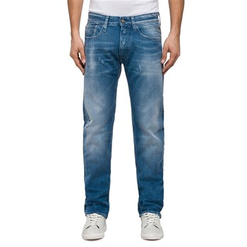 Replay - Jean regular - denim azul